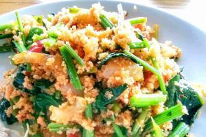 Spinach Stem Salad Recipes