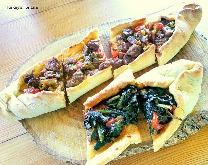 Pide Recipe Meat And Spinach Filling