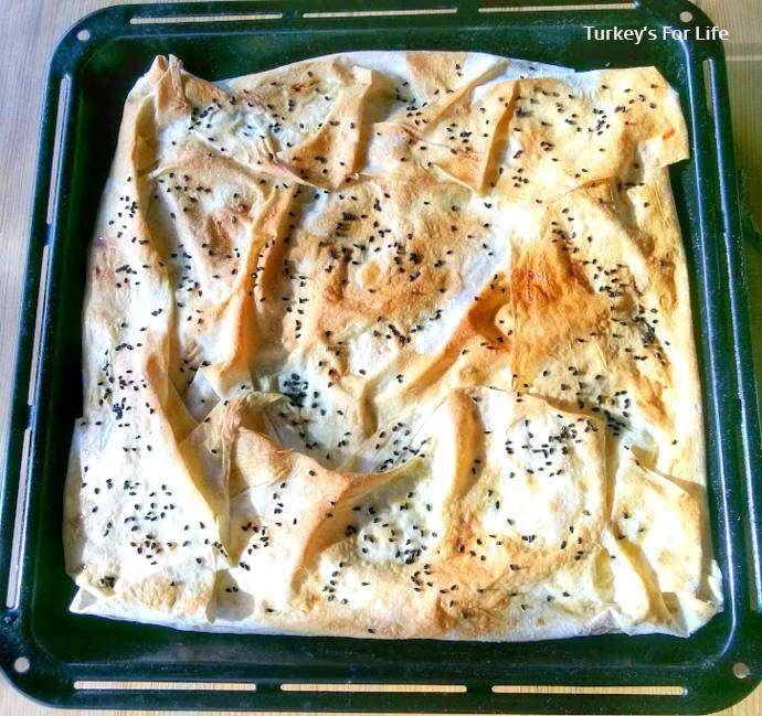 Oven Baked Phyllo Pie
