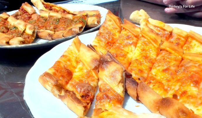 Cheese Pide And Meat Pide