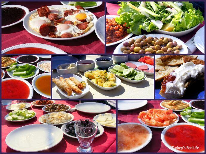 Turkish Breakfast Dishes