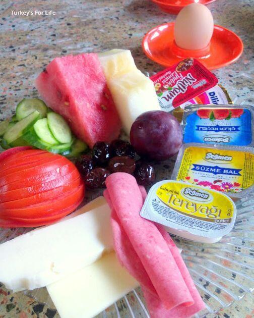 Typical Turkish Breakfast Platter