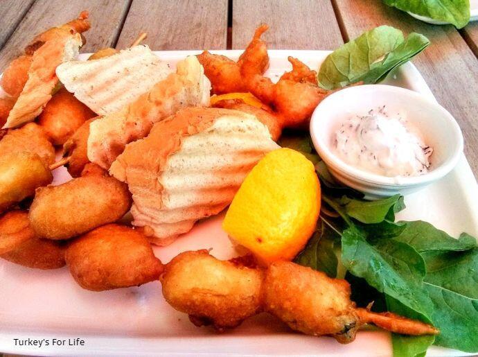 Fried Mussels - Midye Tava