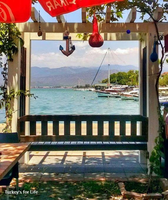 Views From Mezgit Cafe, Fethiye