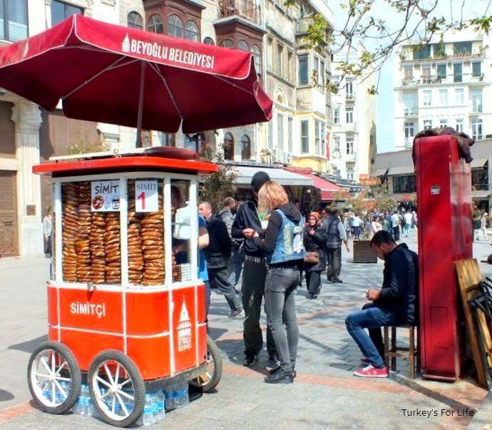 Simit Cart, Istanbul