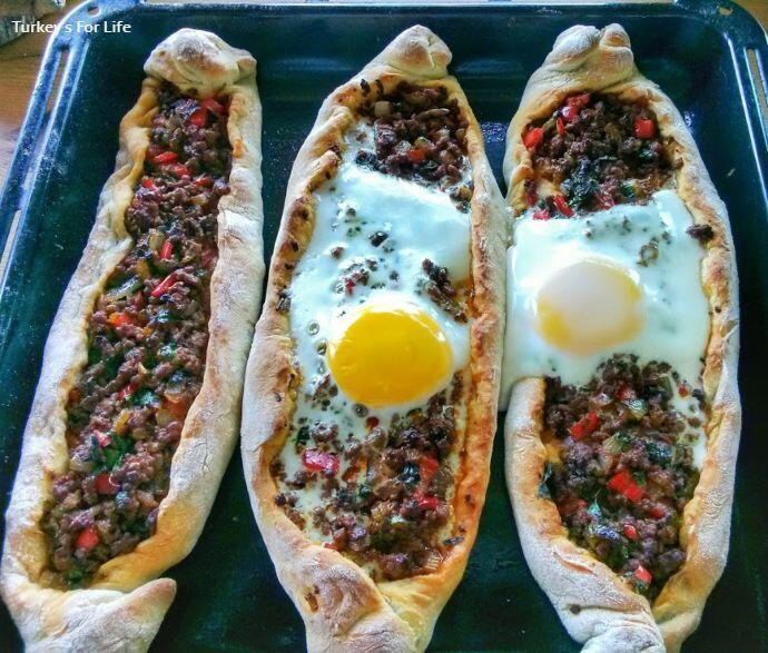 Homemade Pide