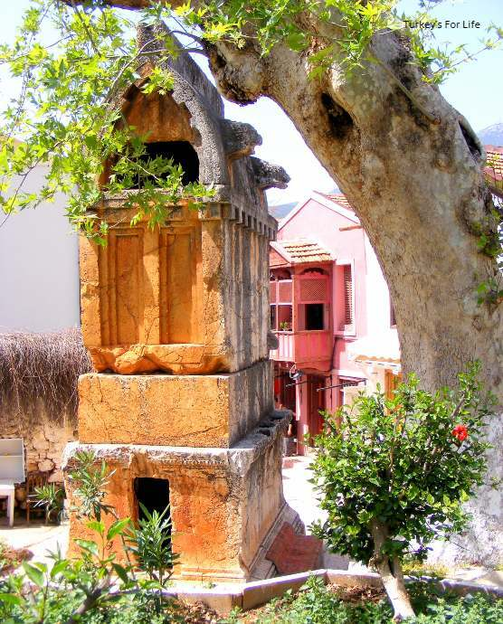 King's Tomb, Kaş