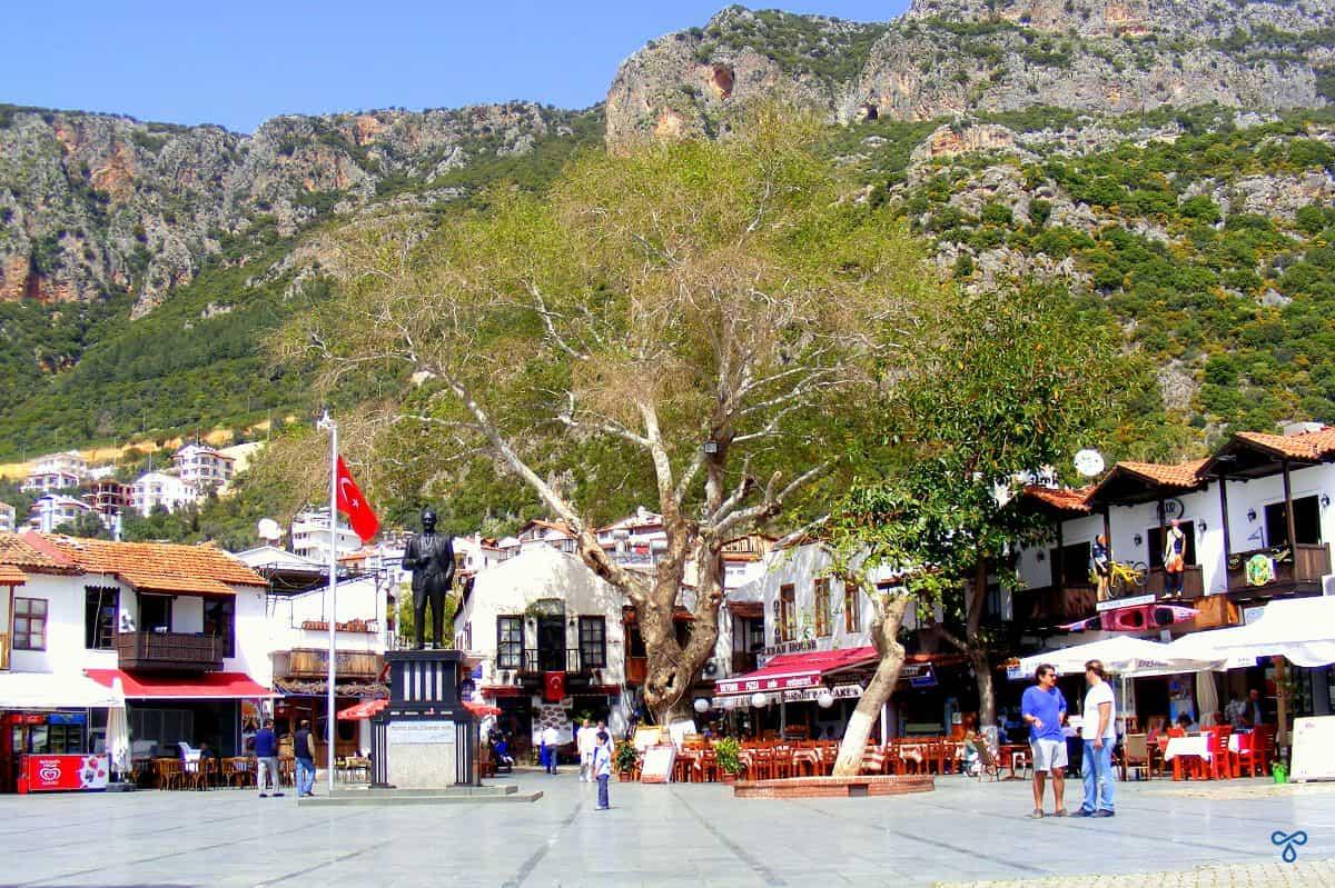 Kaş Town Square
