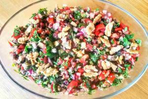 Recipe For Gavurdağı Salad