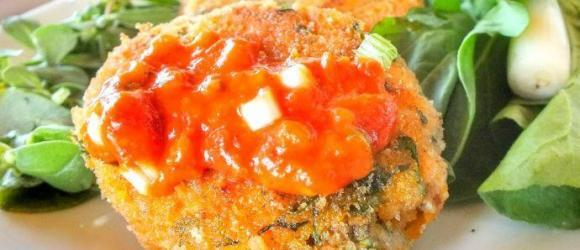 Homemade Fish Cakes With Trout