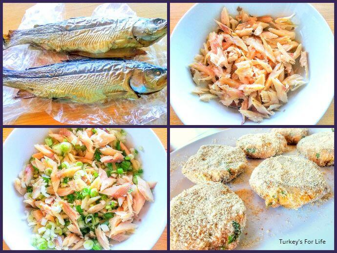 How to Make Fish Cakes With Trout