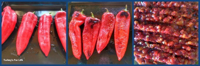 Turkish Roasted Red Peppers