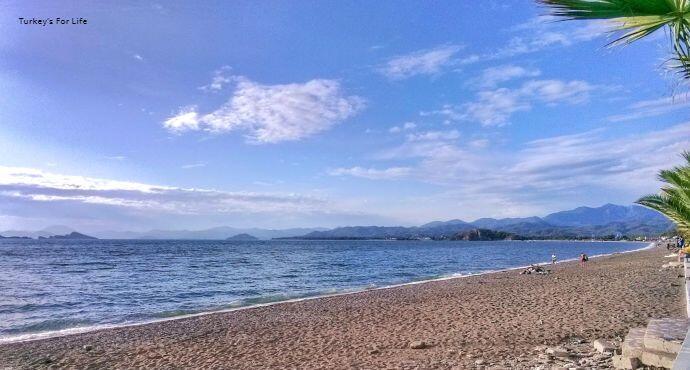 Çalış Beach, Autumn