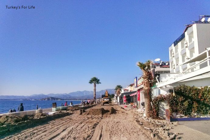 Çalış Beach New Promenade