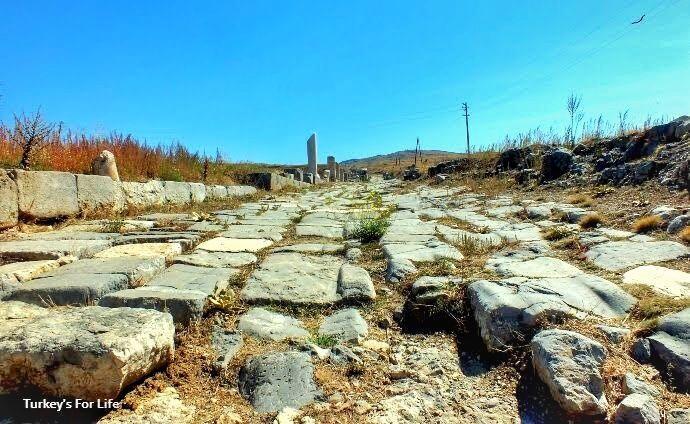 Decumanus Maximus, Antioch Of Pisidia