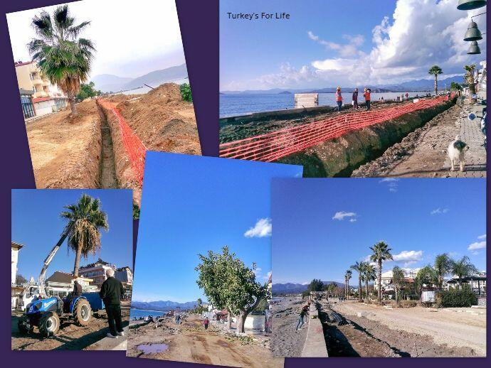 Çalış Beach Renovations