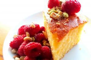Recipe For Revani Semolina Cake