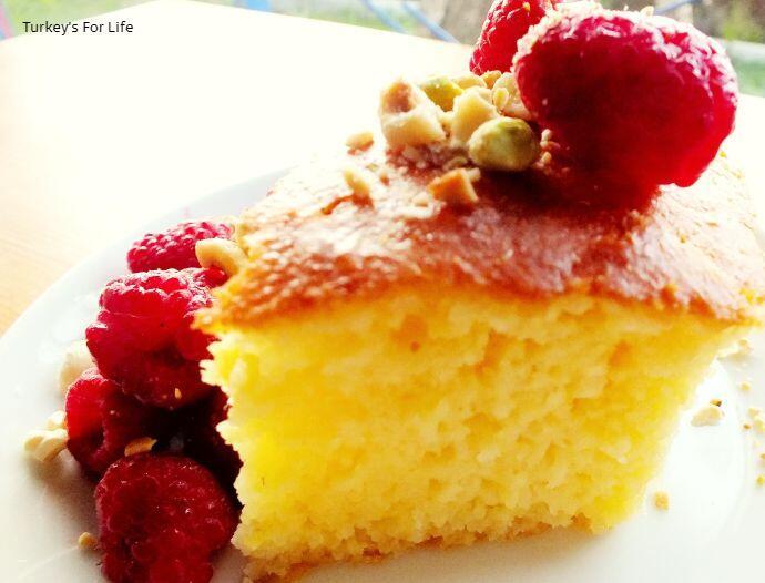 Semolina Cake Recipe, Revani