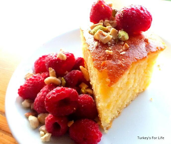 Turkish Revani, Semolina Cake
