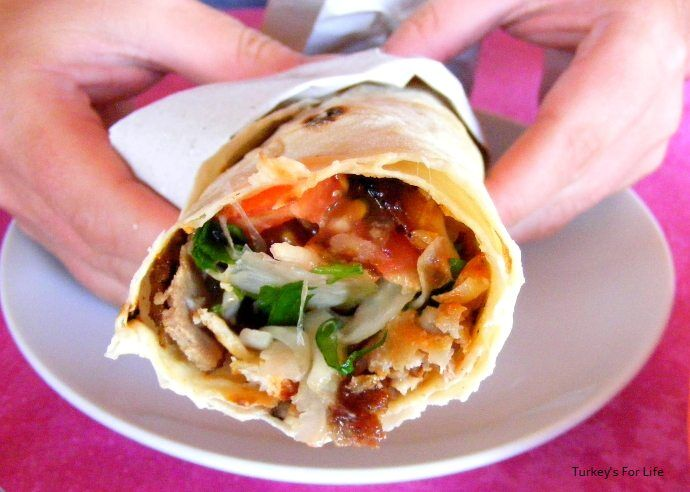Döner Kebab Wrap