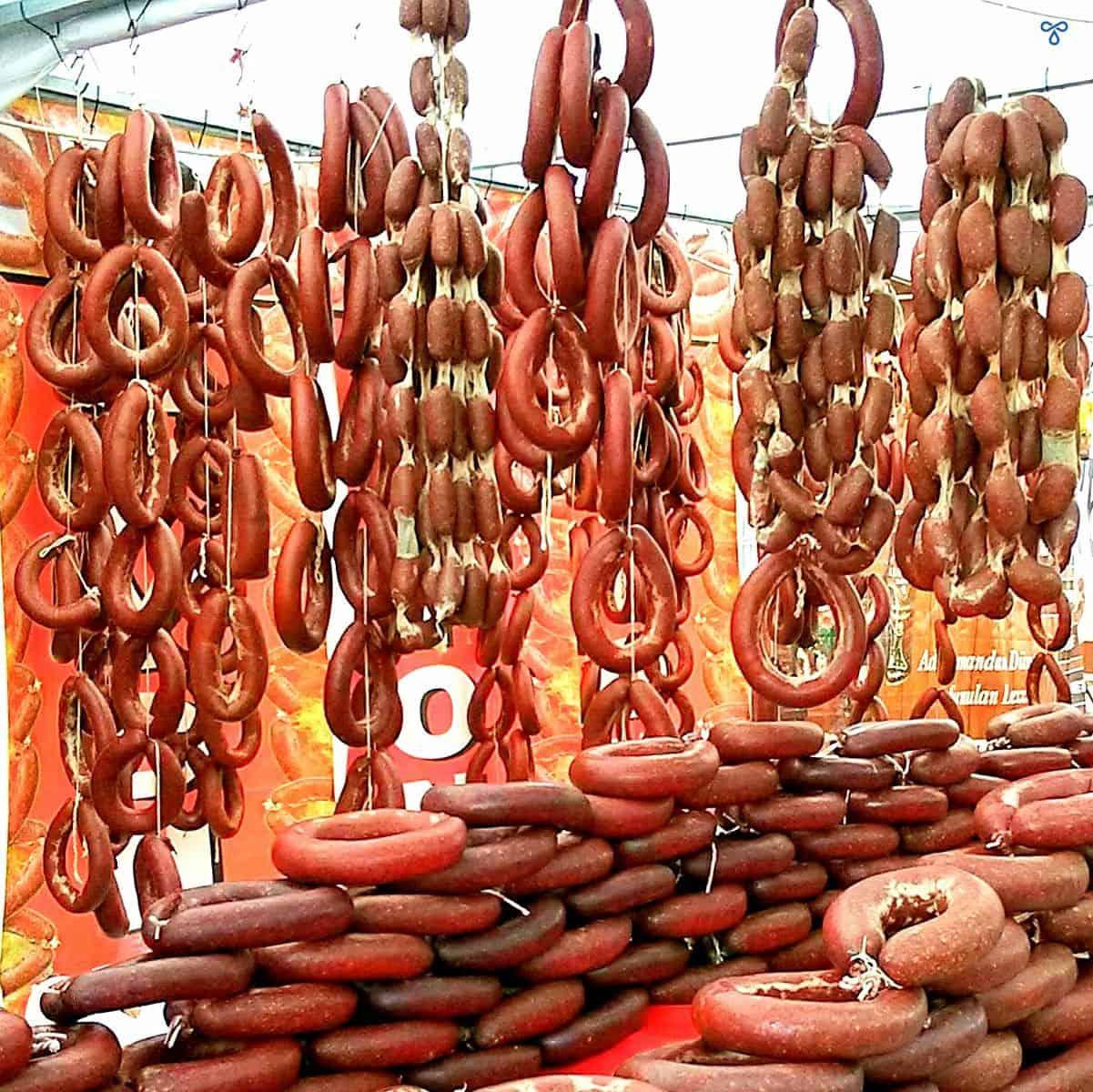 Sucuk Turkish Sausage