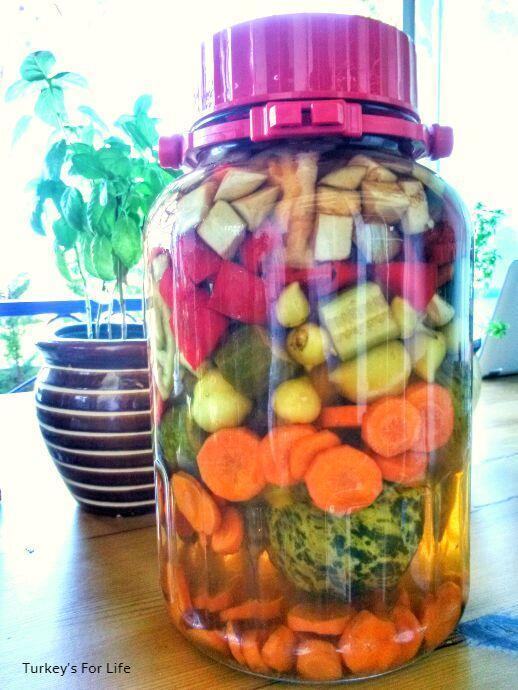 Turkish Pickles Recipe