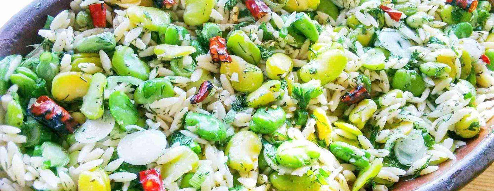 Broad Bean Salad Bakla