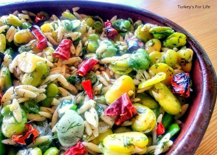 Recipe For Broad Bean Salad