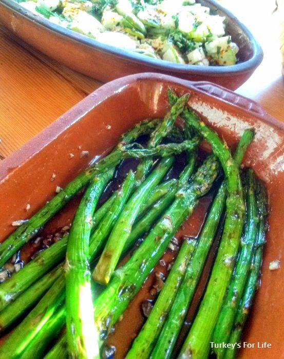 Seasonal Eating Wild Asparagus