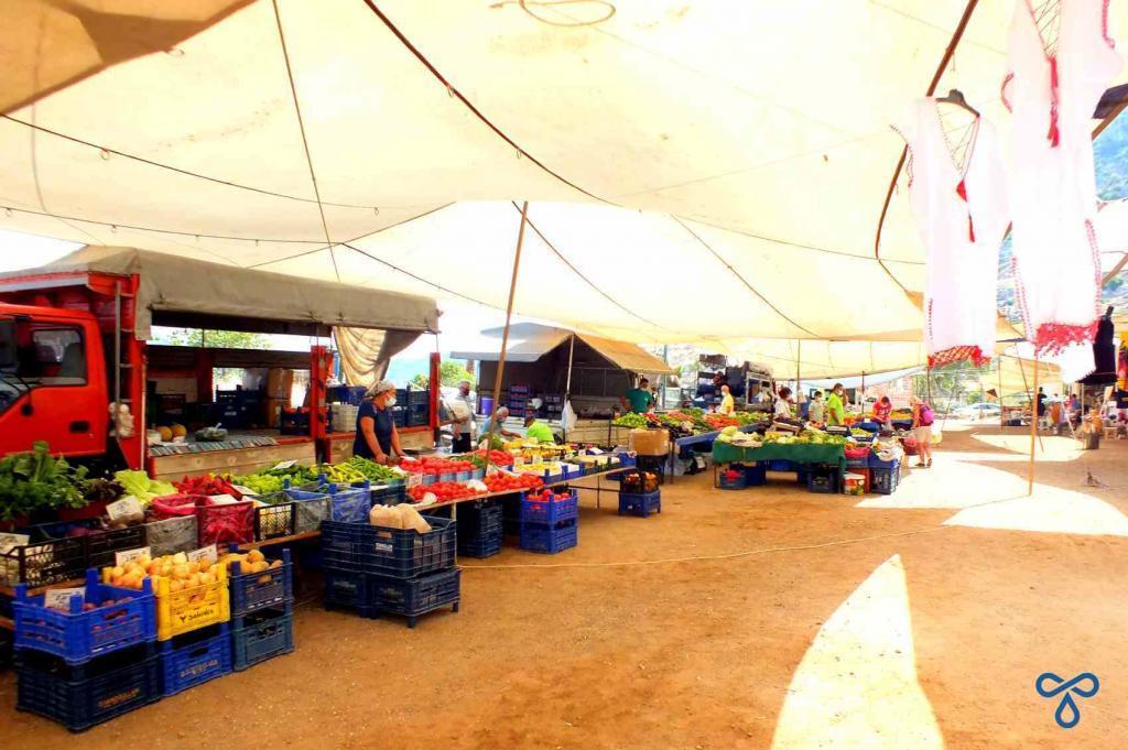 Market Day In Selimiye Village
