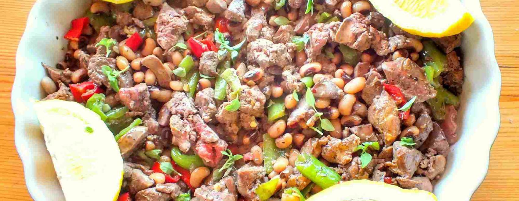 Turkish Fried Chicken Livers