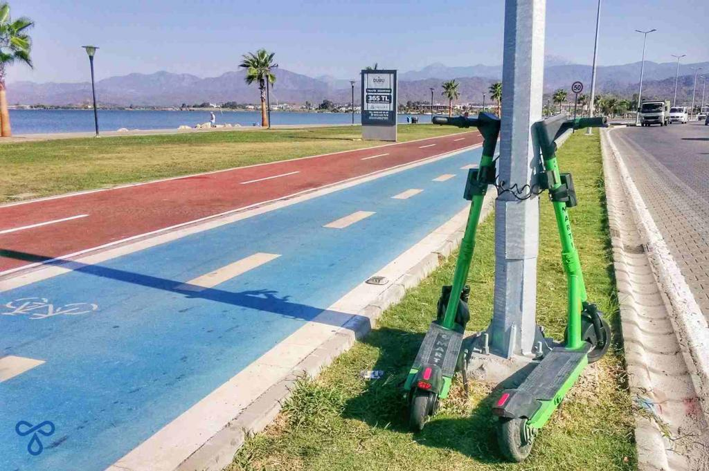 Fethiye News Green Scooters